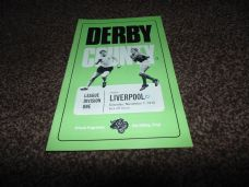 Derby County v Liverpool, 1970/71